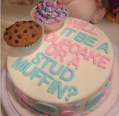 Gender Reveal Cake Inspiration
