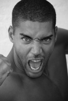 Supermodel Willy Monfret Angry People, Facial Expressions, New Face, Good Mood, Male Models, Character Inspiration, Black Men, Supermodels, Beautiful People