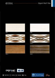 Millennium Tiles 250x750mm (10x24) Glossy Ceramic Wall Tiles...  Millennium Tiles 250x750mm (10x24) Glossy Ceramic Wall Tiles Digitone Series. hhttp://goo.gl/A4MNXG - 135_L - 135_HL - 135_D - 136_L - 136_HL - 136_D #wallart #ceramic #tiles #design #mosaic #interiordesign #retail #export #Tegels #carrelages #Fliesen