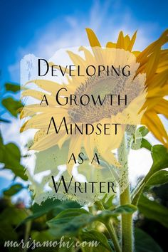 Developing a growth mindset as a writer is important to keep you motivated as you work on your novel. Here are five ways writers can do it. Fiction Writing, Writing Advice, Start Writing, Writing Resources, Writing Skills, Writing A Book, Writing Ideas, Creative Thinking, Creative Writing