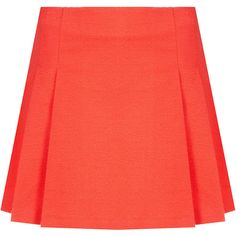 TOPSHOP Textured Pleat Skirt (435 CNY) found on Polyvore
