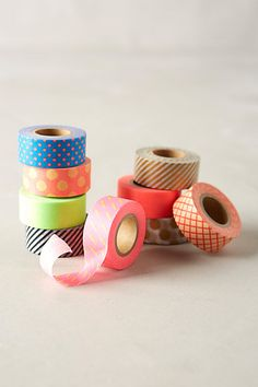 Jubilant Washi Tape - anthropologie.com #anthrofave. I have some of these and they are my favorites.