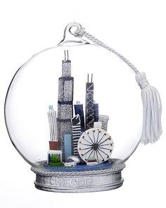 Chicago Cityscape ornament $27.95