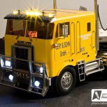 Tamiya Truck GLOBE LINER + Flachbettauflieger Bilder und Video von unserer ersten Ausfahrt mit Juniors Sattelzug.  Weiterlesen → http://wp.me/p1X70W-1P9
