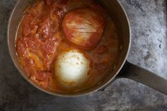 Marcella Hazan's Tomato Sauce with Onion and Butter recipe on Food52