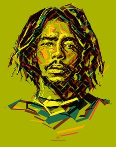 Peter Tosh: Mystic Man Portrait of Peter Tosh for the Reggae Hall of Fame foundation. This poster is donated to raise funds to support the Alpha Boys School in Jamaica. Created by Charis Tsevis.