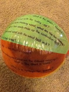 """""""grudgeball""""   I found a review game called """"grudgeball"""" on Pinterest. Check out the original blog post HERE ! The game is originally mean..."""