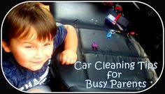 Find valuable tips for busy parents to help keep their car clean. Yes I admit it. This is not my forte. Busy, busy makes for a messy car!