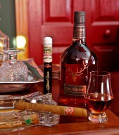 Scotch and Cigar Pairing ~ http://steamykitchen.com