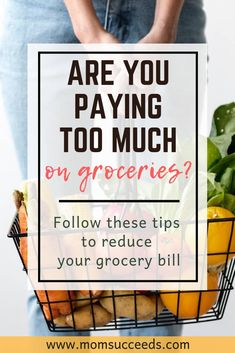 If you're paying too much for your groceries, you need to check out these tips. You don't have to spend hours to save money. Save Money On Groceries, Ways To Save Money, Money Tips, How To Make Money, Cash Money, Money Fast, Planning Budget, Meal Planning, Money Saving Mom