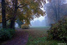 Weimar – Park an der Ilm im Herbstgewand