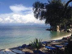 Monodendri Beach near laggos in paxos