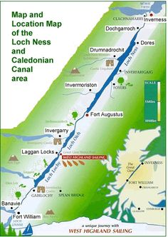 The Caledonian Canal.