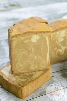 Pumpkin Spice Latte Soap Made with Real Pumpkin is great for your skin and is full of vitamins to leave your skin soft and healthy. Homemade Soap Recipes, Homemade Gifts, Soap Making Supplies, Pumpkin Spice Latte, Pumpkin Puree, Goat Milk Soap, Cold Process Soap, Soap Molds, Home Made Soap