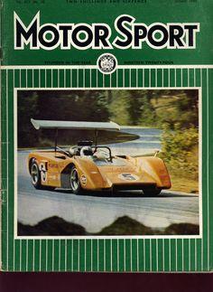 Denny Hulme 1969 Mclaren M8B