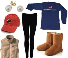 perfect for winter. (Minus the baseball hat)