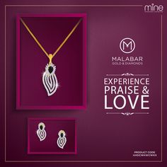 Charm everyone around you with the simplicity of this diamond pendant from Malabar Gold & Diamonds.