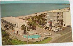 Venice Beach, Sandbar Hotel, 1960's. Tarpon Center Dr.