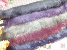 free ship 4 cm wide Genuine rex fur dyed 4 colors for choice limit stock price for 1 yard by DecorHomeArt on Etsy