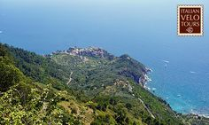 Italian Velo Tours - Summer cycling on the Cinque Terre panoramic road.