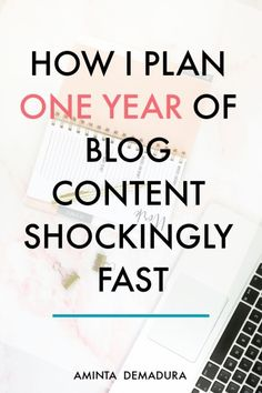 How to Plan A Years Worth of Incredible Content in One Day – Finance tips for small business The Plan, How To Plan, Make Money Blogging, How To Make Money, Blogging Ideas, Earn Money, Saving Money, What To Write About, Content Marketing