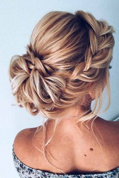 nice 54 Gorgeous Wedding Hairstyles Ideas For You www.lovellyweddin nice 54 Gorgeous Wedding Hairstyles Ideas For You www.lovellyweddin nice 54 Gorgeous Wedding Hairstyles Ideas For You www. Bridal Hair Updo, Wedding Hair And Makeup, Hair Makeup, Bridesmaid Hair Updo Braid, Hairstyle Wedding, Hairstyle Ideas, Prom Hair Bun, Wedding Updo With Braid, Bridesmaid Updo Hairstyles