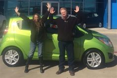 LORETTA's new 2015 CHEVROLET SPARK! Congratulations and best wishes from Orr Chevrolet and TERRY COUCH.