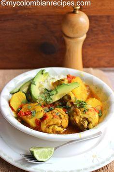 Sudado de Pollo (Colombian-Style Chicken Stew) | My Colombian Recipes
