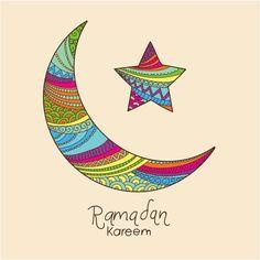 Moon & Star Of Ramadan Kareem Background   http://www.cgvector.com/?s=ramadan