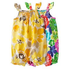 Carter's Floral Romper - Baby