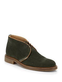 Saks Fifth Avenue Collection - Suede Chukka Boots