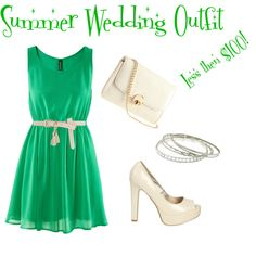Summer Wedding Outfit (less then $100!), created by neamarie88 on Polyvore