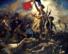 Art in Space: Eugène Delacroix: Liberty Leading the People (1830)