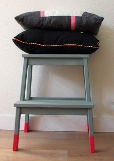 Flo Ikea Stool Make-Over(maartjemaakt)