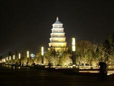 Great Wild Goose Pagoda | 13 Days China Yangtze Tour to Beijing, Guilin, Yangtze River and ...