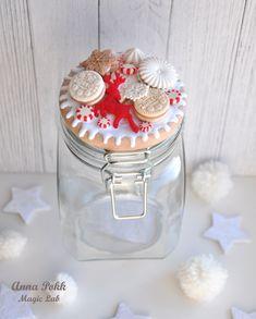 вкусные ложки, полимерная глина, анна покк, новый год, зима, рождество, christmas, polymer clay Festive Crafts, Diy And Crafts, Pasta Flexible, Clay Creations, Decoration, Biscuit, Mason Jars, Polymer Clay, Wraps