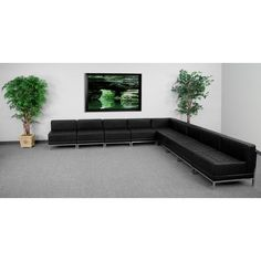Flash Furniture ZB-IMAG-SECT-SET7-GG HERCULES Imagination Series Sectional Configuration