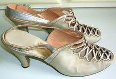 1920s flapper shoes.