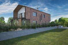 Villa Şimşek #villa #houses #facade #brickworks #woodworks #architects
