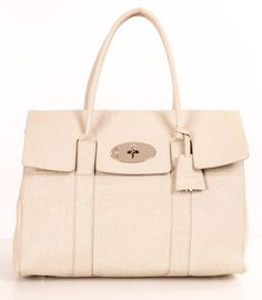 Mulberry Special Edition White Satchel