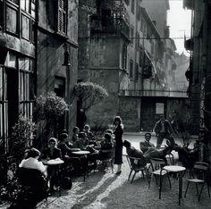 Ugo Mulas:  Bar Jamaica, Milano '50s