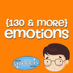 130+ Emotions Practice for Speech Therapy Practice