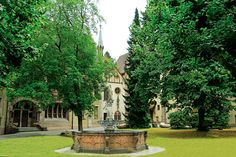 Lichtenthal Abbey, Baden-Baden - Home to Cistercian nuns