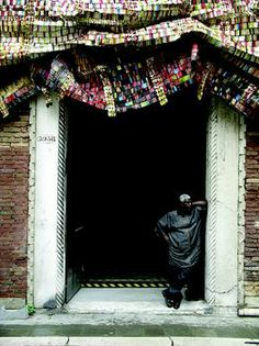 El Anatsui * with Fresh and Fading Memories, Palazzo Fortuny, Venice, 2007