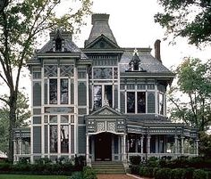I love victorian style homes, especially the wrap around porch