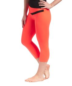 Look at this Respect Your Universe Alarm Allure Capri Leggings on #zulily today!