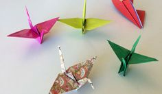 How to Fold Origami Cranes (and Keep Your Kids Busy During Summer Break)