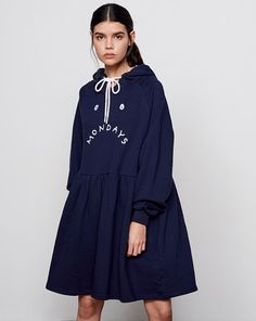 Lazy Oaf Mondays Hoodie Dress - Everything - Categories - Womens