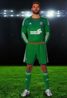 Ipswich Town adidas 15/16 Goalkeeper Kits