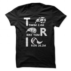 Cool #TeeForTriathlon Triathlon TRI swim… - Triathlon Awesome Shirt - (*_*)